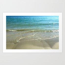 Receding Tide Art Print