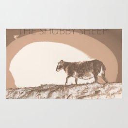 The shubby sheep Rug