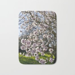 Almond trees in flower in Portugal, the Algarve Bath Mat