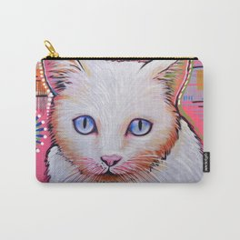 Slinky...Abstract cat art Carry-All Pouch