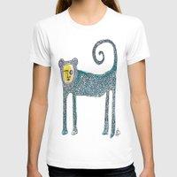 monkey T-shirts featuring Monkey by Dawn Patel Art