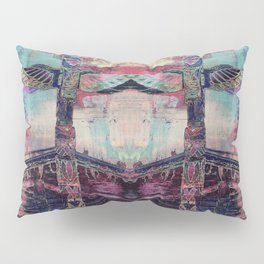 Totem Cabin Abstract - Multi Pillow Sham