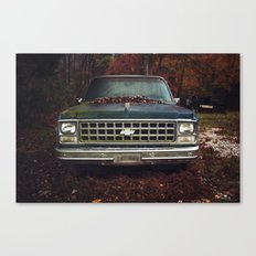 Old Growth Chevy Canvas Print