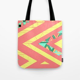 Ethnic triangles Tote Bag