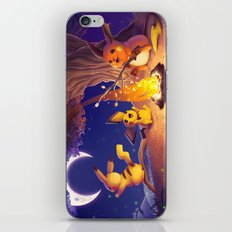 Chu Campfire iPhone & iPod Skin