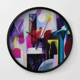 Juxtaposed Wall Clock
