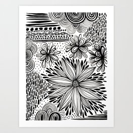 Cacophony of Doodles Art Print