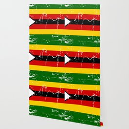 Zimbabwe flag Wallpaper