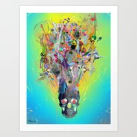 archan nair Art Prints featuring Revival by Archan Nair
