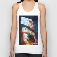dragons Tank Tops featuring Dragons by youcoucou