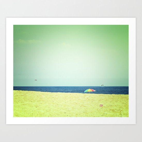 Fleeting days of summer Art Print