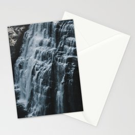 Middle Letchworth Falls Stationery Cards