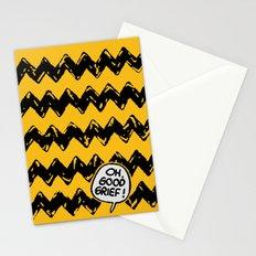 CHARLIE CHEVRON Stationery Cards