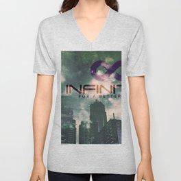 Infinitek Seattle Unisex V-Neck