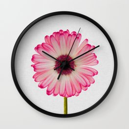 Daisy Still Life Wall Clock
