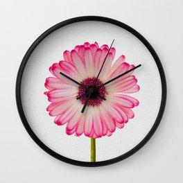 Daisy Still Life Wall Clock