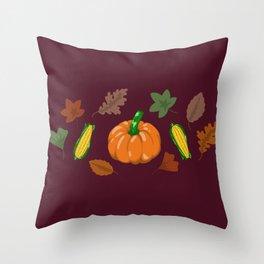 Fall #3 Throw Pillow