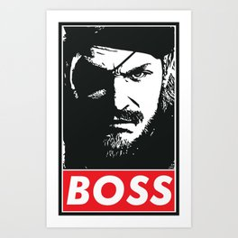 Big Boss - Metal Gear Solid Art Print