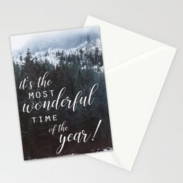 holiday greeting forest photo card Stationery Cards