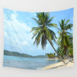 The Caribbean beach 01 Wall Tapestry