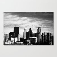 minneapolis Canvas Prints featuring Minneapolis by Sarah Margulies