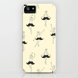The Ballet of Mustache iPhone Case