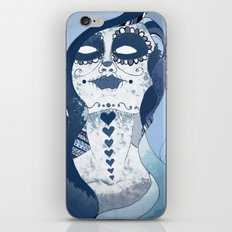 How Blue is Your Heart? iPhone & iPod Skin