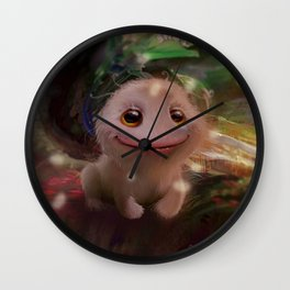 What a little monster Wall Clock