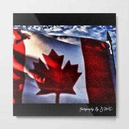 Oh Canada Metal Print