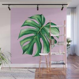 Palm Tree Leaf Art Print Wall Mural