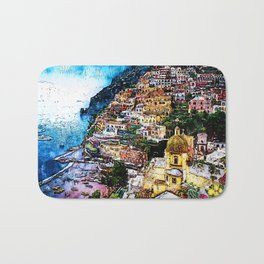 Amalfi, Italy Bath Mat