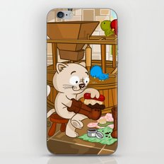 Puss in boots iPhone & iPod Skin