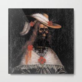 DAMSEL OF STRECHAU - UNKNOWN ARTIST  Metal Print
