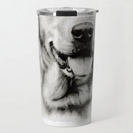 Labrador is my BFF Animal Portrait Travel Mug