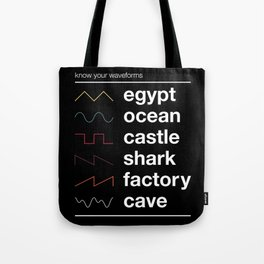 Know your Waveforms Tote Bag