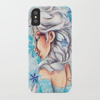 frozen elsa iPhone & iPod Cases featuring Elsa - Frozen by MissMachineArt