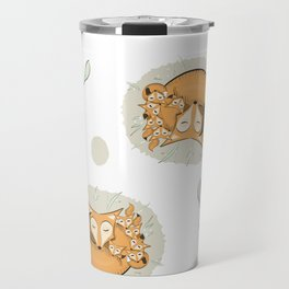 Mom fox Travel Mug