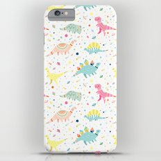 Dinosaur Pattern Slim Case iPhone 6s Plus