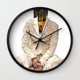 Femme naturelle Wall Clock