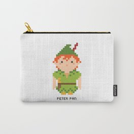 Peter Pan Pixel Character Carry-All Pouch