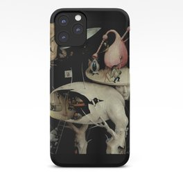 Tree Man, Surreal, Hieronymus Bosch, The Garden of Earthly Delights iPhone Case