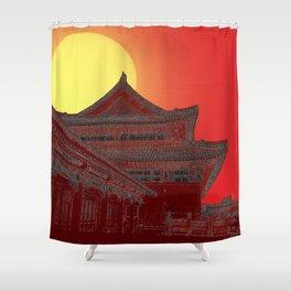 Imperial Sunrise Shower Curtain