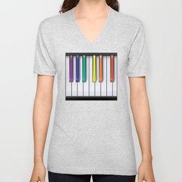 Colour Your Music Unisex V-Neck