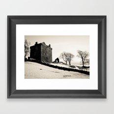 Castle on the Hill Framed Art Print