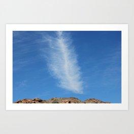 Leaf Cloud Art Print
