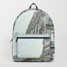 Haussmannian Buildings Paris Backpack