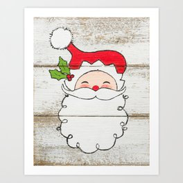 Mr. Claus Art Print