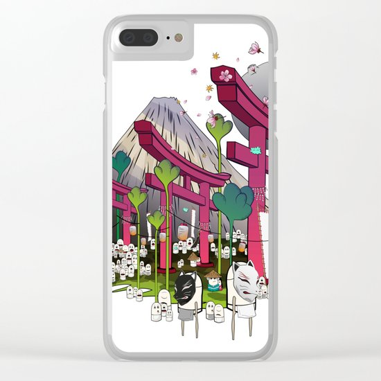 Fuji Scene Clear iPhone Case