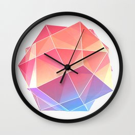 polyhedra Wall Clock
