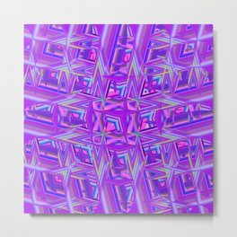 Abstract BB ZZZA Metal Print